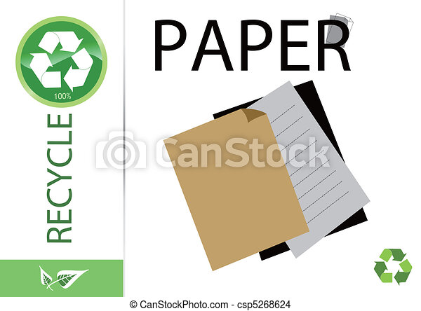 Please recycle paper - csp5268624