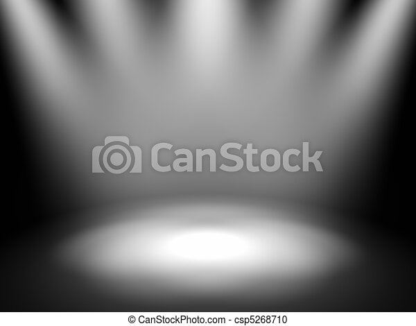 Stage Lights - csp5268710