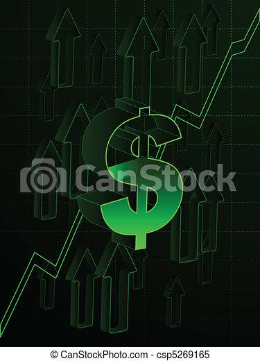 Rising economy - csp5269165