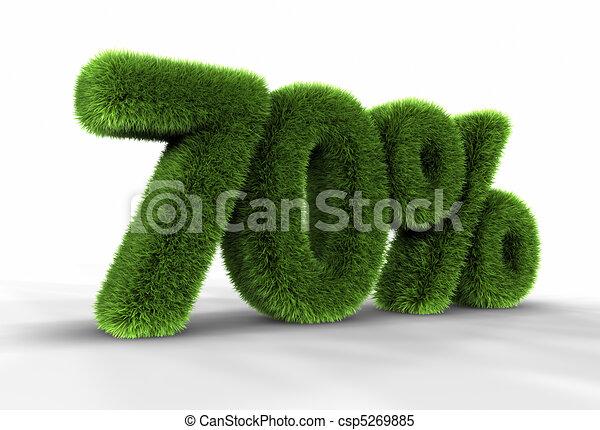Grass Seventy Percent - csp5269885