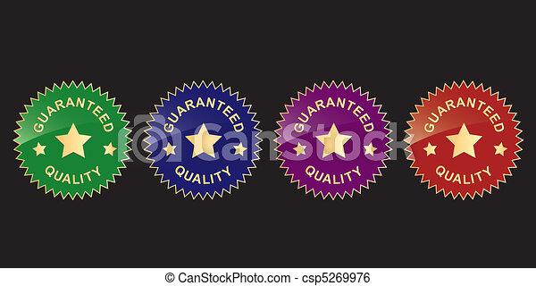 guaranty labels - csp5269976