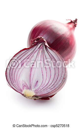 sliced red onion - csp5270518