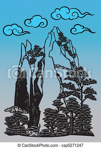 Chinese Landscape - csp5271247