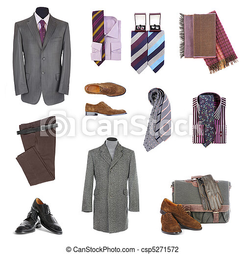 Men's clothes and accessories - csp5271572