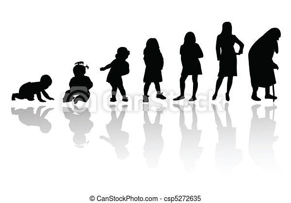 silhouette person - csp5272635