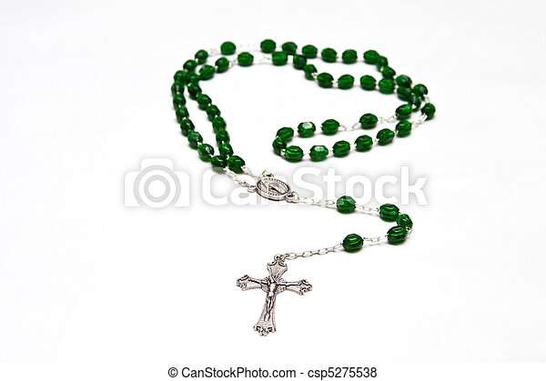 Catholic Rosary beads - csp5275538