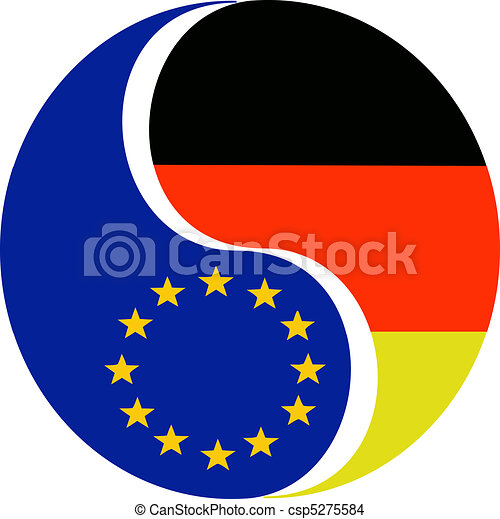 Germany and the EU - csp5275584