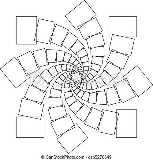 Spiral rectangles - csp5276649