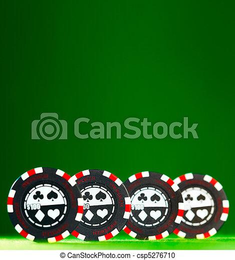 gambling chips - csp5276710