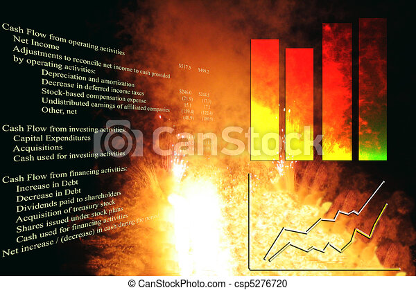 Explosive Growth Chart - csp5276720