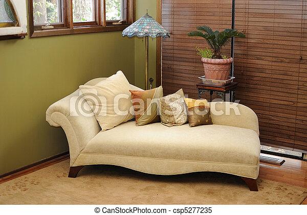 Plush Interior Lounge Chair - csp5277235
