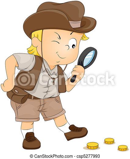 Treasure Hunt - csp5277993
