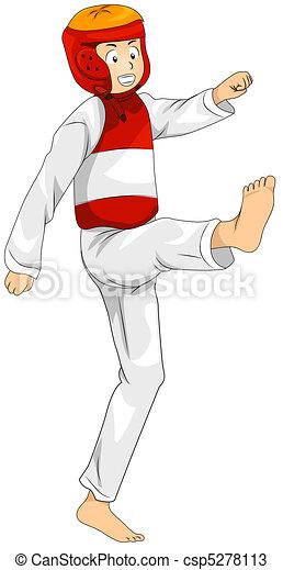 Taekwondo - csp5278113