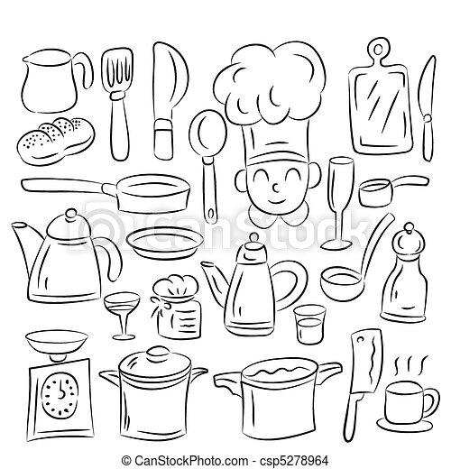 Kitchen draw  - csp5278964