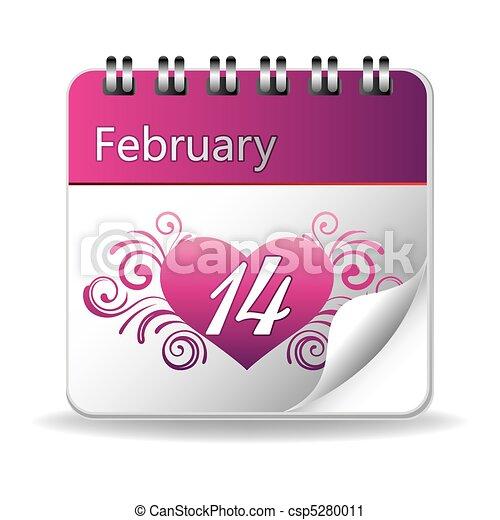 valentine's day - csp5280011