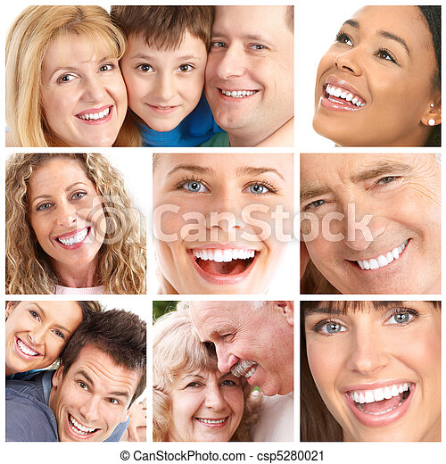 微笑, 牙齒 - csp5280021