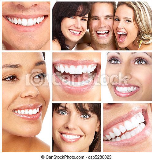 sourires, dents - csp5280023