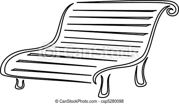 comment dessiner un banc