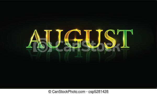 august design - csp5281428