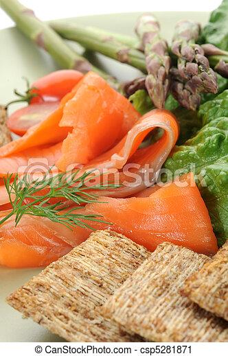 Smoked Salmon - csp5281871