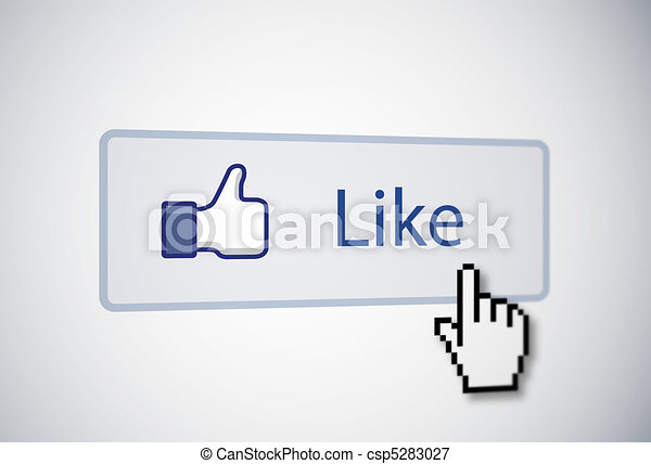 Like button - csp5283027