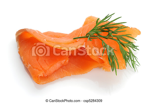 Smoked Salmon - csp5284309
