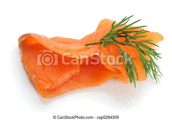 Smoked Salmon - csp5284309