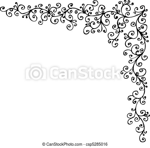 Baroque Frozen vignette CCCXIV - csp5285016