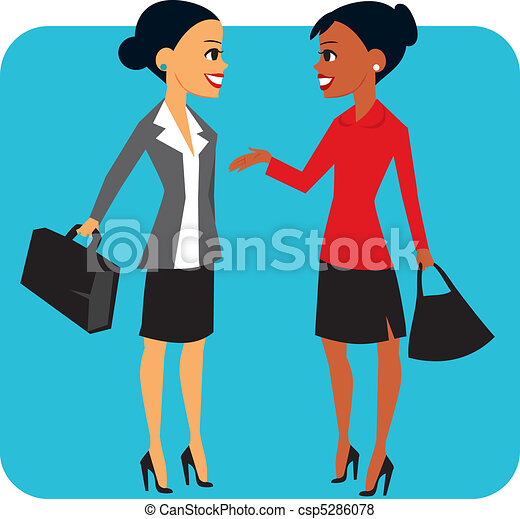 Two businesswomen - csp5286078