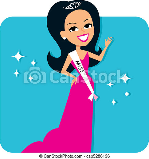 Beauty Contest Girl - csp5286136