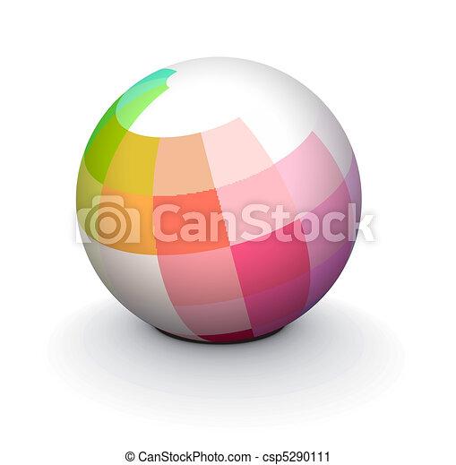 3D sphere - csp5290111