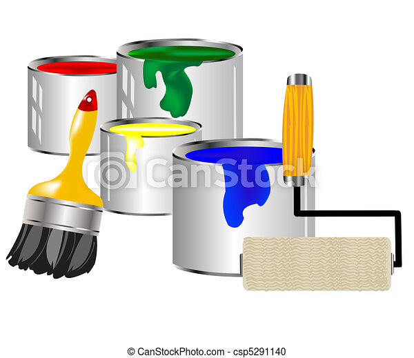 Paint and painting tools - csp5291140