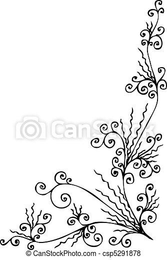 Baroque Frozen vignette CCCXXIV - csp5291878