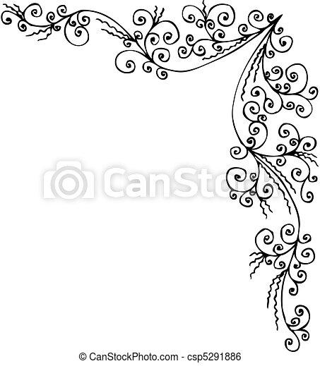 Baroque Frozen vignette CCCXXII - csp5291886