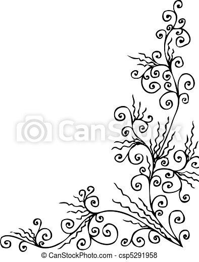 Baroque Frozen vignette CCCXXX - csp5291958