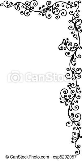 Baroque Frozen vignette CCCXI - csp5292057