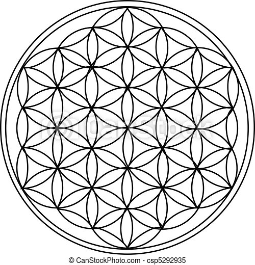 The Flower of Life - csp5292935