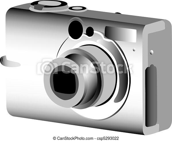 Digital photo camera - csp5293022