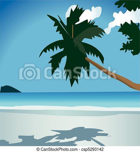 Beautiful nature, summer vacation - csp5293142
