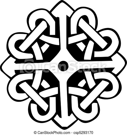 Celtic symbol Vector Clipart Royalty Free. 11,199 Celtic symbol ...