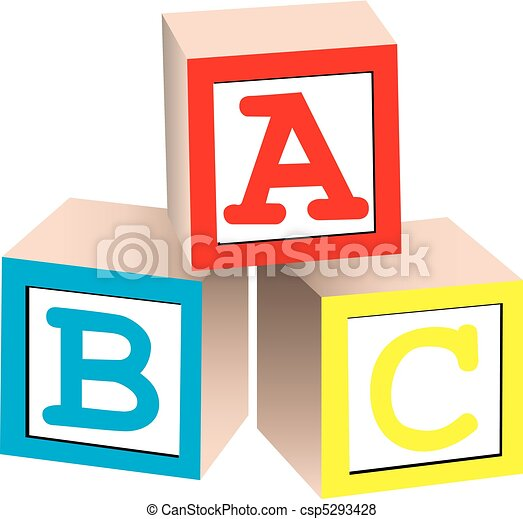 Alphabet Blocks - csp5293428