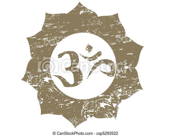 om stamp - csp5293522