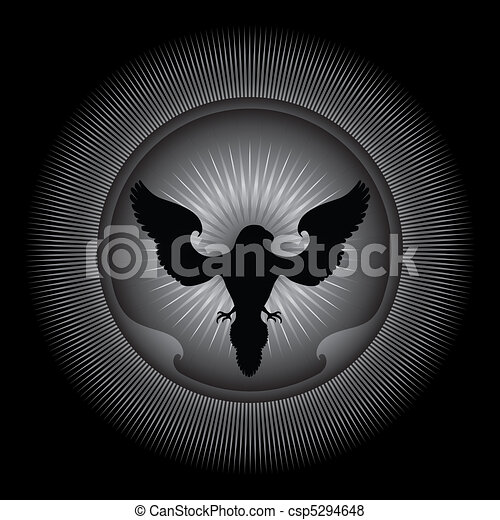Eagle - Ornamental Illustration. - csp5294648
