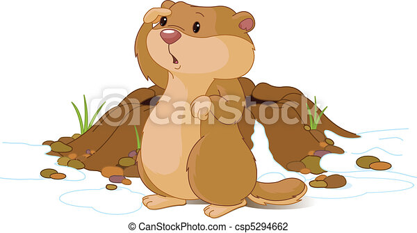 Woodchuck Stock Illustrations. 300 Woodchuck clip art images and ...