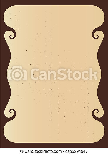 Decorative Frame - Border. - csp5294947