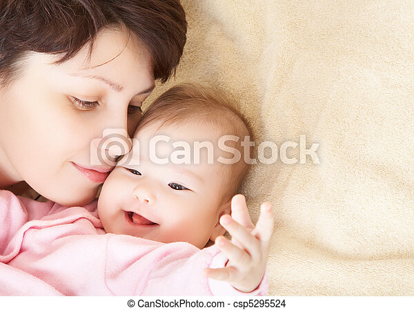 Mother and baby - csp5295524