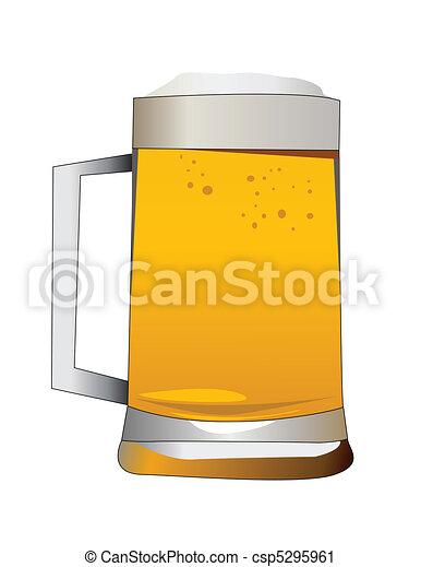 beer alcoholic drink  - csp5295961
