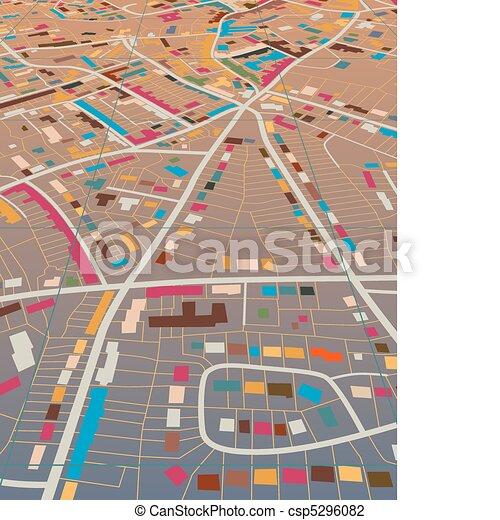 Color town - csp5296082