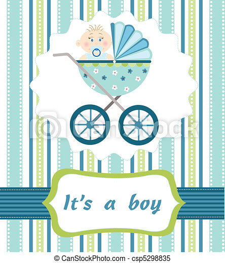 baby boy arrival - csp5298835