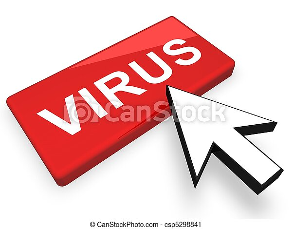 virus concept - csp5298841